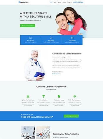 dental-website design houston
