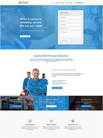 electrician-website design Missouri City